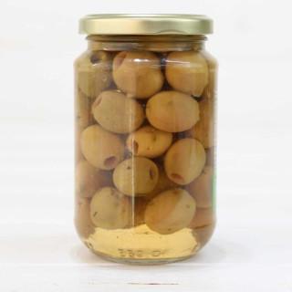 Glas - Oliven Aloreñas. ohne Knochen 170 grs