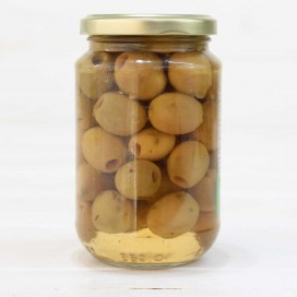 Jar of Olives Aloreñas Seasoned boneless 170 grams