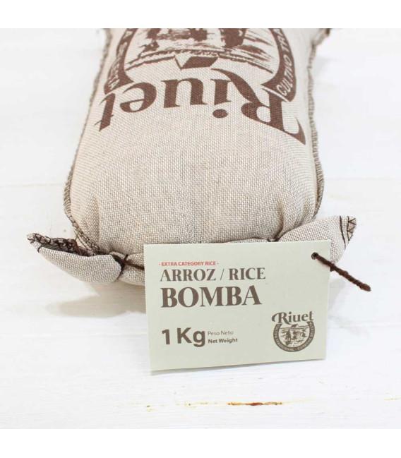 La Bomba di riso D. O. P. Borsa tessuto 1 kg