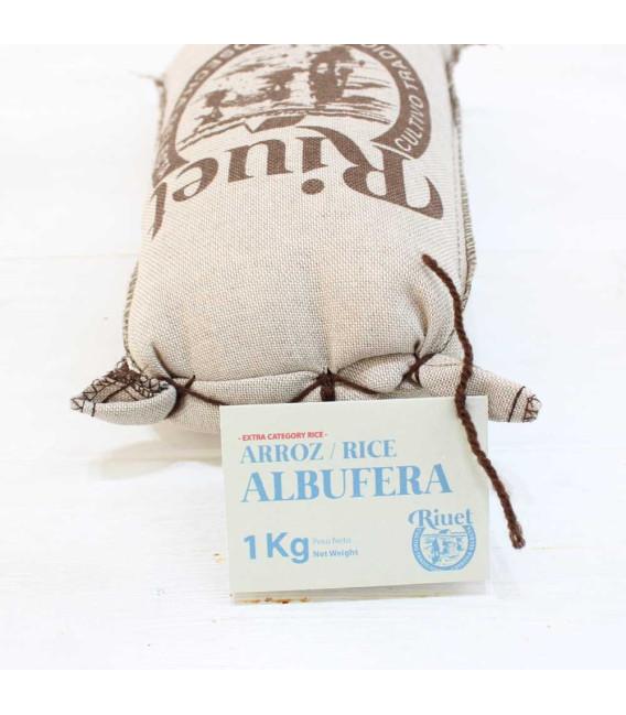Riz Albufera avec D. O. P., le sac de 1 kg