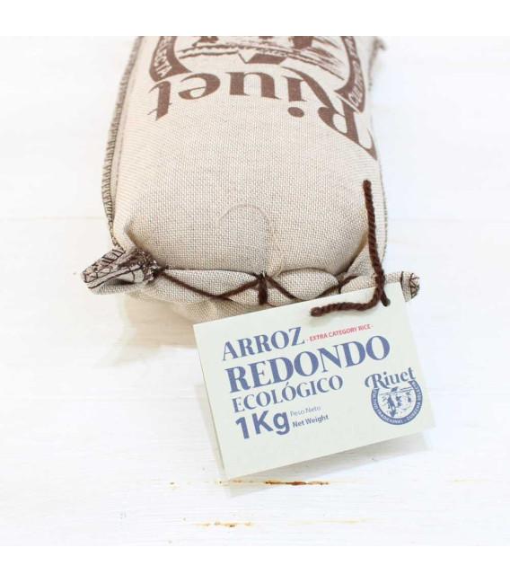 Arroz Redondo Ecológico , Saco 1kg