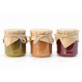 Pack 3 homemade Jams 15%