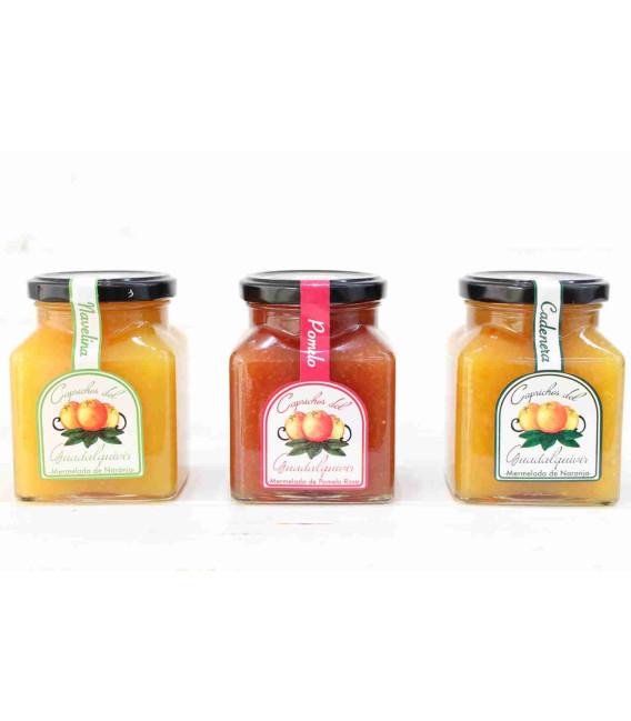 Pack Mermeladas de Naranja y Pomelo 15% dto