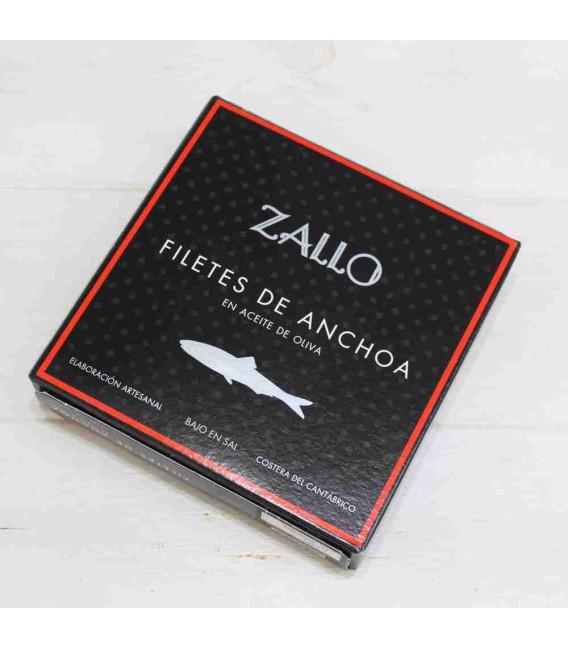 Anchoas del Cantábrico en Aceite de Oliva selección premium 26 filetes, 165 grs Zallo