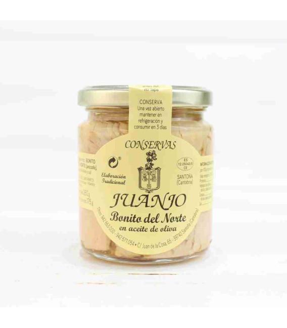 Bonito del norte en aceite de oliva 260 Grs. Juanjo