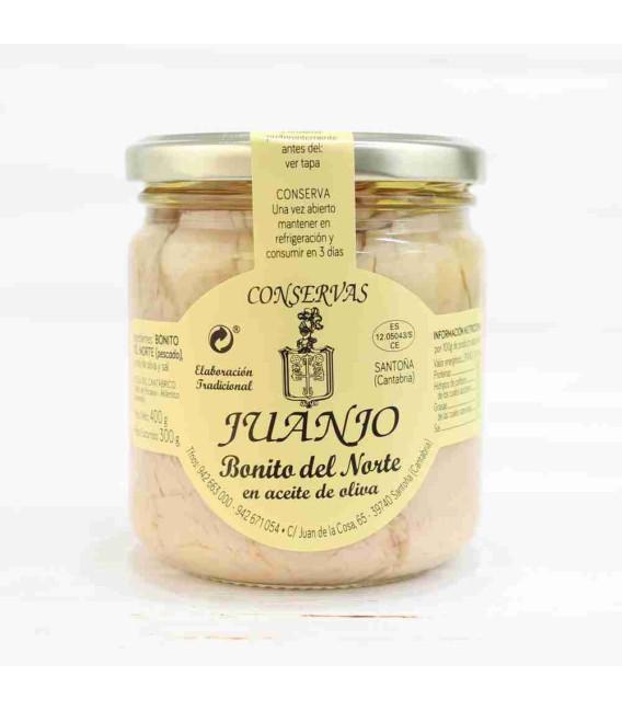 Bonito del norte en aceite de oliva 400 Grs. Juanjo