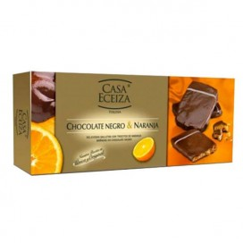 Biscuits au chocolat Noir et Orange 100g
