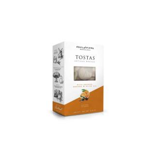 Tostas Artesanas Con Naranja 100 grs