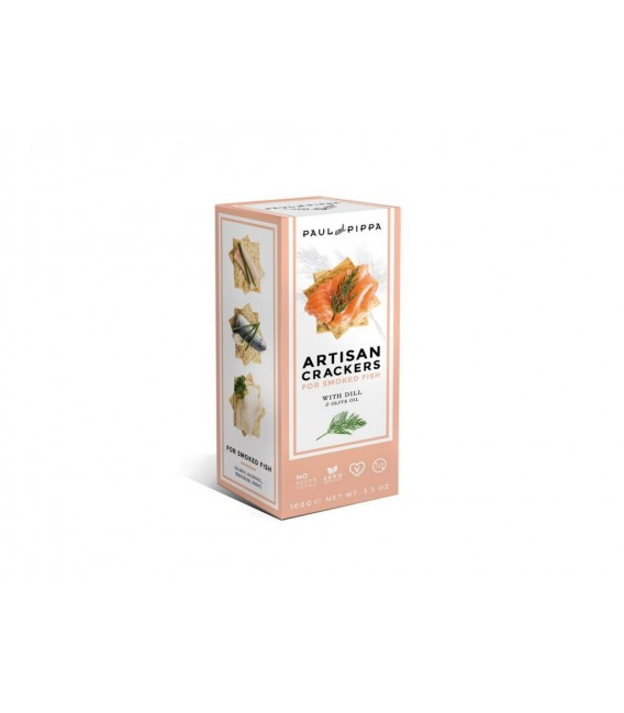 Crackers Artesanos Con Eneldo 100 grs
