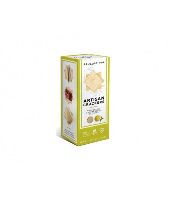 Crackers Artesanos Con Quinoa 100 grs