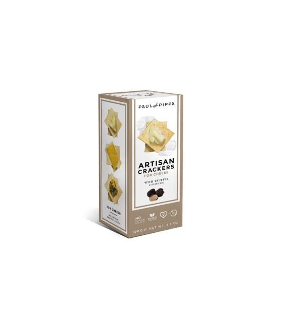 Crackers Artesanos Con Trufa 100 grs