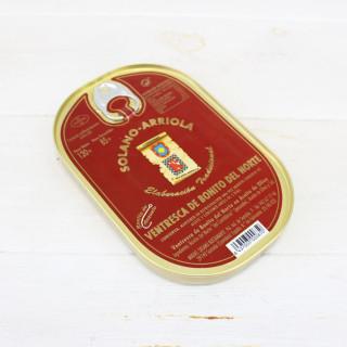Ventresca de Bonito en Aceite de Oliva 120 grs. Solano Arriola