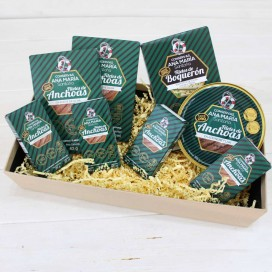 "Gourmet Basket ""Ana's anchovies and anchovies"""
