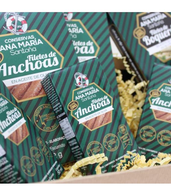 """Cesta Gourmet """"Las anchoas y boquerón de Ana"""""""