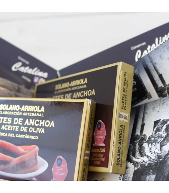 """Cesta Gourmet """"Anchoas Selección"""""""