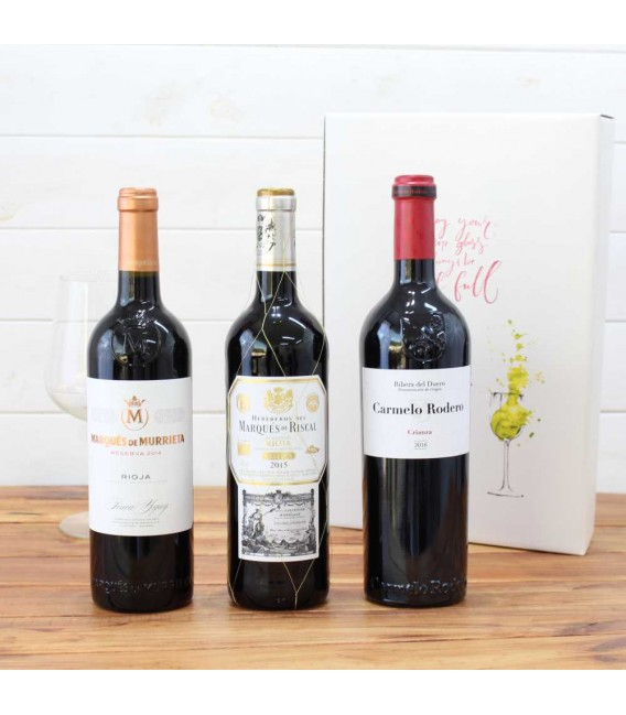 Estuche Regalo 3 Botellas de Vino nº4