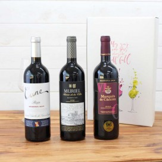 Estuche Regalo 3 Botellas de Vino nº8