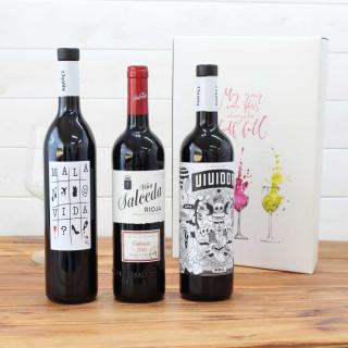 Estuche Regalo 3 Botellas de Vino nº10