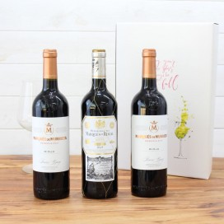 Estuche Regalo 3 Botellas de Vino nº5