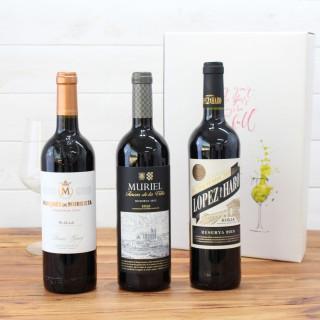Caso Legno 3 bottiglie di Ramón Bilbao reserva