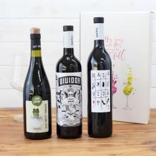 Etui Holz 3 flaschen Ramon Bilbao reserva