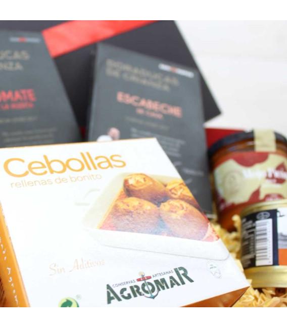 """Caja Roja Deluxe Cartón """"Recetas del Chef"""""""