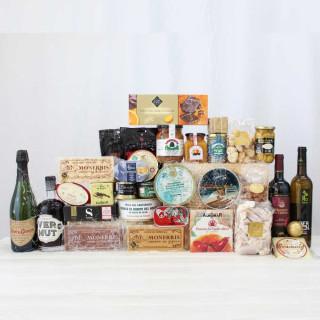 Cesta Gourmet Artesanal Navidad 1