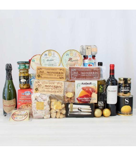 Basket Gourmet Artisan Christmas 3