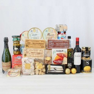 Basket Gourmet Artisan Christmas 15
