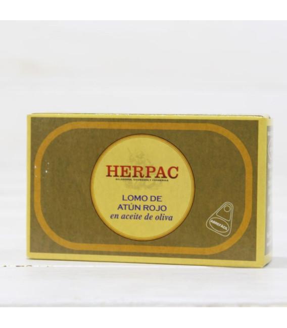 Lomo de Atún Rojo en Aceite de Oliva 120 grs