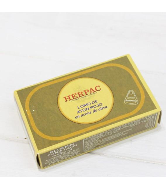 Longe de thon dans l'Huile d'Olive 120 grammes
