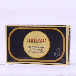 Ventresca de Atún Rojo en Aceite de Oliva 120 grs