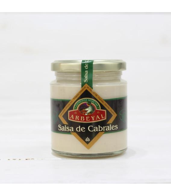 Salsa de Queso Cabrales, Lata 210 grs