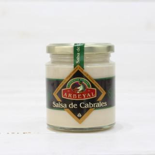 Salsa de Queso Cabrales, Tarro 210 grs