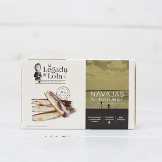 Navajas al Natural de las Rías Gallegas 6/8,118 grs, L.Lola