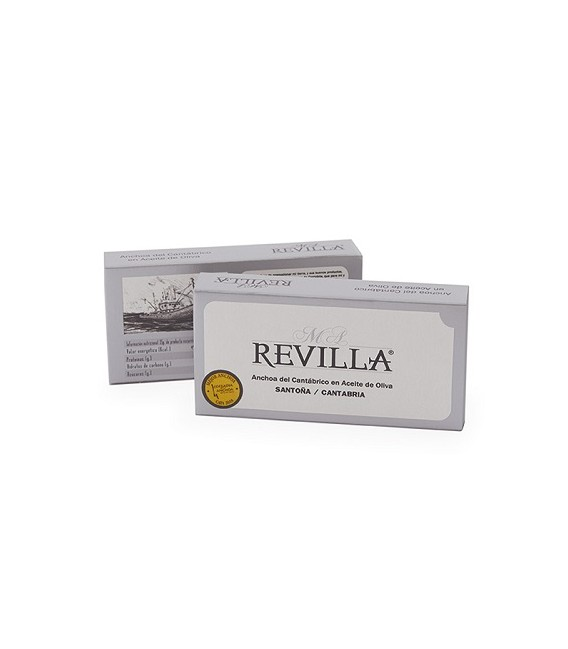 Anchovies from Santoña with Butter Green M. A. Revilla