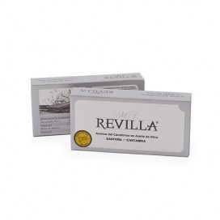Anchois de Santoña avec du Beurre Vert M. A. Revilla