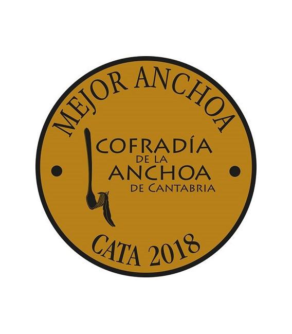 Sardellen aus Santoña mit Butter Ökologischen M. A. Revilla