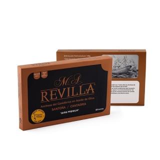 Anchoas de Santoña Alta Restauración Serie Premium 10 Filetes, M.A.Revilla