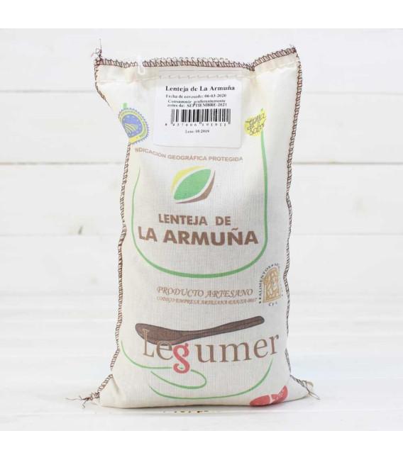Cloth sack Lentils of the Armuña I. G. P 1kg
