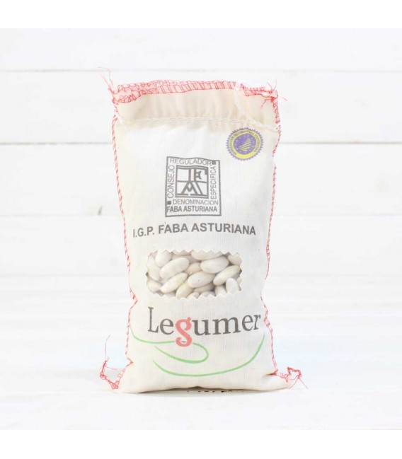 "Stoff-sack Fabada Asturiana"", I. G. P. 1/2kg"