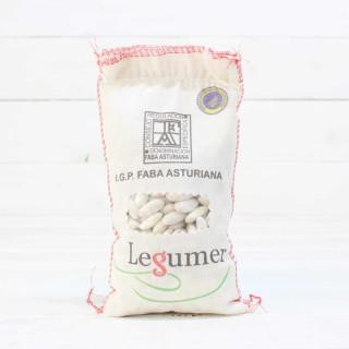 Saco de tela Fabada Asturiana I.G.P. 1/2kg
