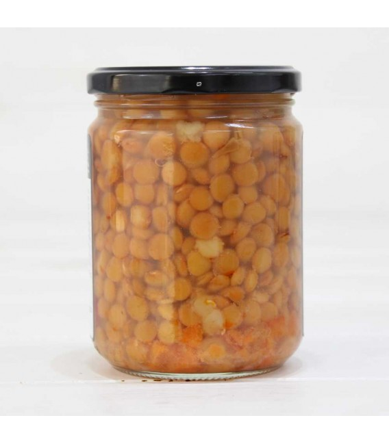 Jar of Lentils of The Armuña I. G. P with Chorizo 425grs
