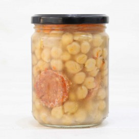 Jar of Cooked Spanish Garbanzo de Fuentesaúco I. G. P. 425 grs