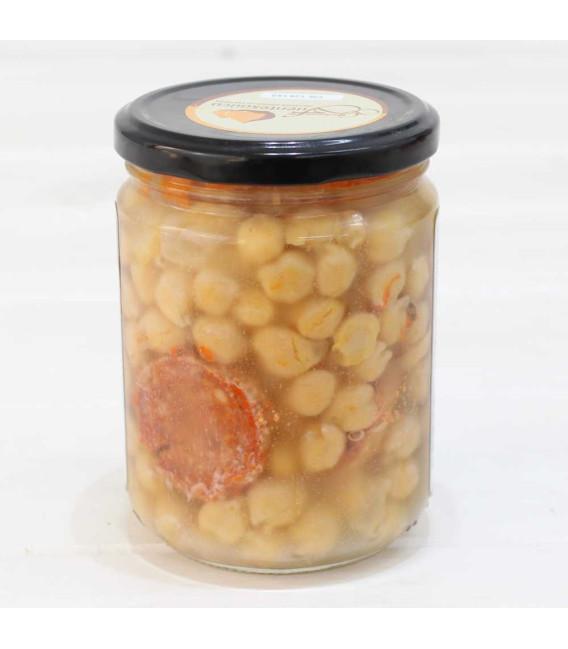 Glas - Eintopf Spanisch Kichererbsen von Fuentesauco I. G. P. 425 grs