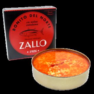 Le thon en Sauce catalane 550 grammes, Zallo