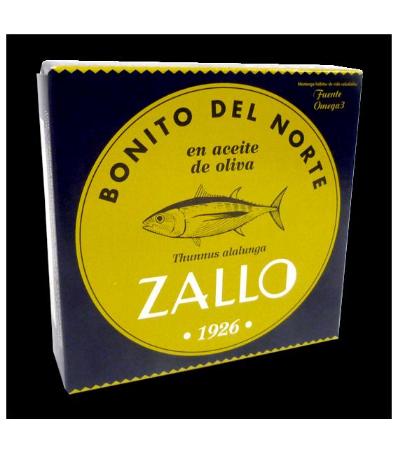 Bonito del Norte Costera en Aceite de Oliva 550 grs, Zallo