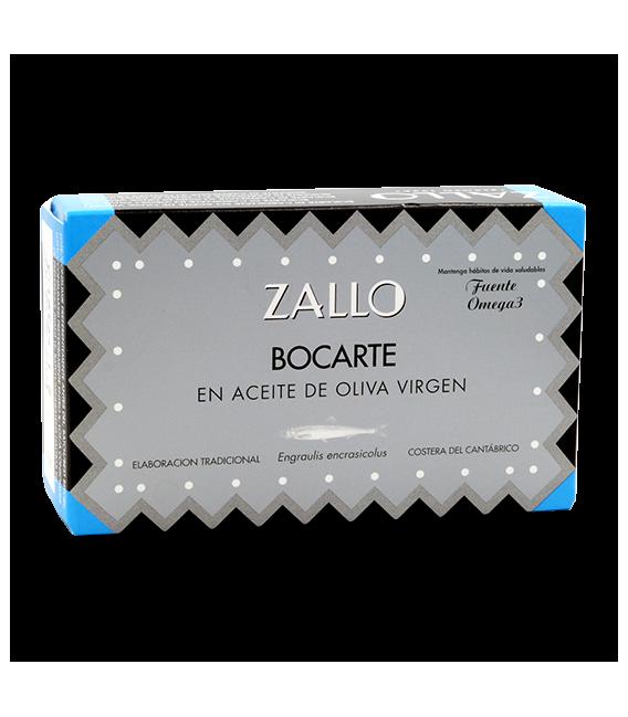 Bocarte Di Cardinale en Aceite de Oliva Virgen Extra, 120 grs, Zallo
