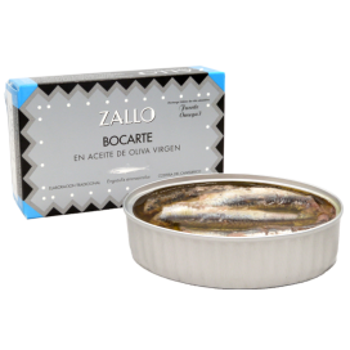 Bocarte Di Cardinale dans l'Huile d'Olive Extra Vierge, 120 g, Zallo