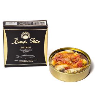 Sardines, Stewed,130 grs, Ramón Peña Gold